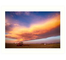 Turbo Charged Country Sky Art Print
