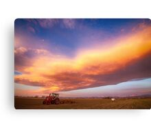 Turbo Charged Country Sky Canvas Print