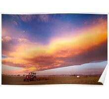 Turbo Charged Country Sky Poster