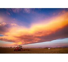 Turbo Charged Country Sky Photographic Print