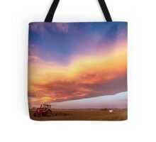 Turbo Charged Country Sky Tote Bag