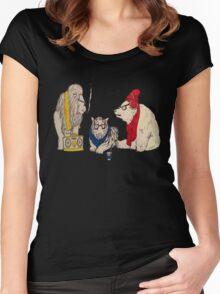 Underground Zoo Women's Fitted Scoop T-Shirt