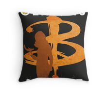 BUFFY: DEATH IS MY GIFT Throw Pillow
