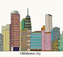 oklahoma city skyline by bri-b