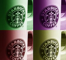 Starbucks Mugs by Chris Thaxter