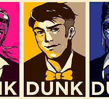 League of Legends - Dunk pop art (Yi, Vi, Jayce, Jarvan and Darius ) by Zeniru