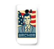 american archer red white and blue Samsung Galaxy Case/Skin