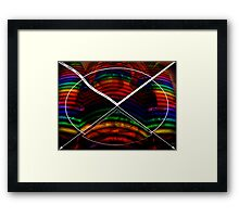 Colorful Bows Framed Print