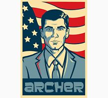 american archer red white and blue Unisex T-Shirt
