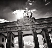 Brandenburg Gate (Brandenburger Tor) - Berlin Germany by Brixhood
