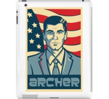 american archer red white and blue iPad Case/Skin