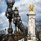 PONT ALEXANDRE III - PARIS by Michael Carter