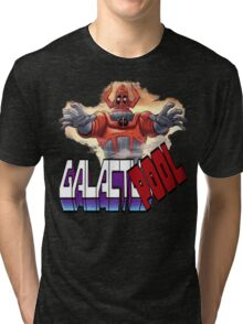 Galactupool Tri-blend T-Shirt