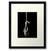 I Hate Fruit - Pear Framed Print