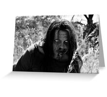 The Zombie on the Hill Greeting Card