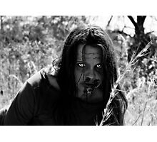 The Zombie on the Hill Photographic Print