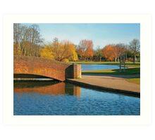 Rowntree Park Art Print