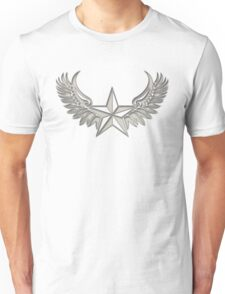 NAUTICAL STAR - Wings - Protection & Guidance SAILORS & TRAVELERS Unisex T-Shirt