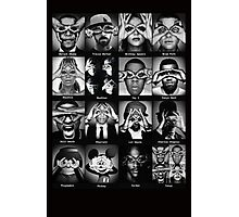 Celebrities Illuminati Singers Eyes Photographic Print