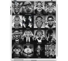 Celebrities Illuminati Singers Eyes iPad Case/Skin