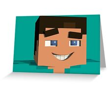 Minecraft Game Greeting Card