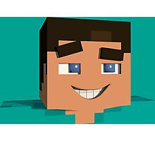 Minecraft Game Photographic Print