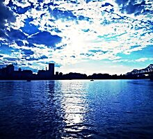 Rideau Canal Blue  by Natasha  Ashwe