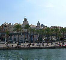 Genoa Waterfront by Tom Gomez