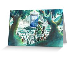 the Hero of Timey-Whimey Greeting Card