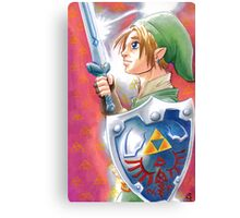 Link, the Hero Canvas Print