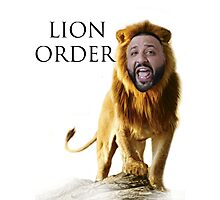 DJ Khaled - LION ORDER Photographic Print