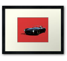 Supercharged American Muscle Framed Print