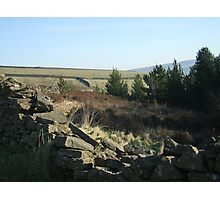 Digley Res.  Holmfirth Photographic Print