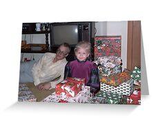 Presents 1985 Greeting Card