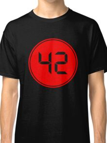 Fourty Two Digital Classic T-Shirt