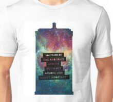 Doctor Who - 900 Years of TIme and Space... Important Unisex T-Shirt