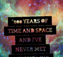 Doctor Who - 900 Years of TIme and Space... Important Sticker