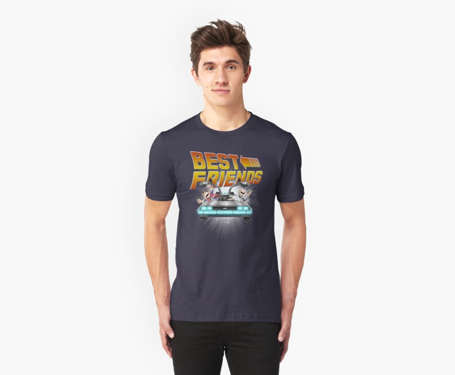 Best Friends - Back To The Future by saqman