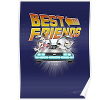 Best Friends - Back To The Future Poster