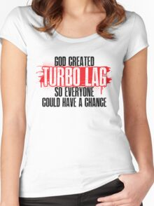 Turbo Lag Women's Fitted Scoop T-Shirt