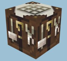 Minecraft Chest Block by ReverendBJ