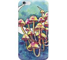 Mushroom Patch iPhone Case/Skin