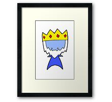 Ice King Wee Star (Adventure Time) Framed Print