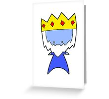 Ice King Wee Star (Adventure Time) Greeting Card