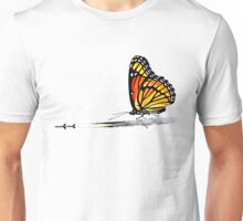 Angry Butterfly Unisex T-Shirt