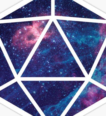 D20 Falling Star Portal Sticker