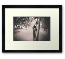 Reality and dream Framed Print