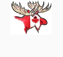 Artistic Canadian flag moose head Unisex T-Shirt