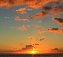 Sunset, Sea and Sky by Honor Kyne