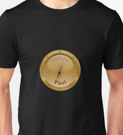 Compass Pointing to Future - Steampunk Unisex T-Shirt